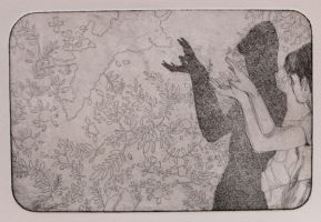 Shadow Etching I by sporkychan
