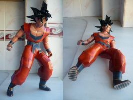 Dragonball-Son Goku by savaskul
