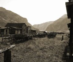 Rocky Mountain Ghost Town by Fel2Norak