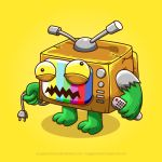 TV Monster by anggatantama