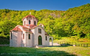 Little Church on the mountain by etsap