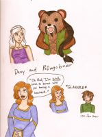 Game of Thrones doodles by dannytink