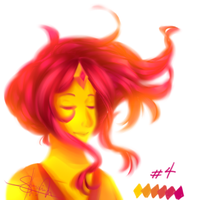 im so done with the palette challenge by Sayorii-chii