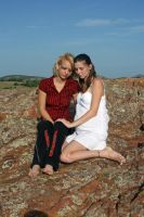 Two Girls and a Baby 7 by candhphotography