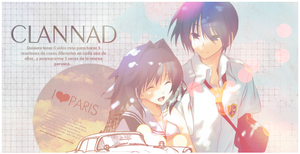 CLANNAD banner by melo91