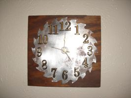 Shop Clock by Sawdust013
