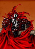 Spawn on Cross - Color by TigerK0690