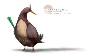 Farfetch'd by MrRedButcher