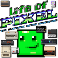 Life of Pixel by POOTERMAN