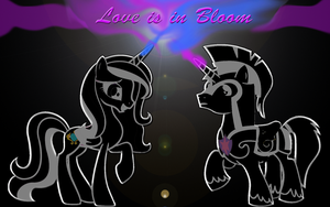 MLP Love is in Bloom Desktop Wallpaper by DalekstuGaming