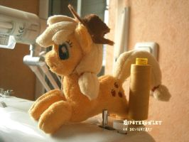 Handmade Applejack Shoulderpony by HipsterOwlet