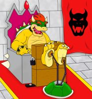 Bowser's Session by DismalHowl