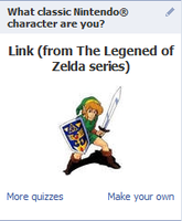 Facebook says I am Link by clampfan101