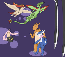 A lovely Lunar Nuzlocke by Lion-Oh-Day