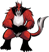 Cora's Monster Form by angieness