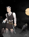 Hundter and the Graveyard Shift by Hazardousthing