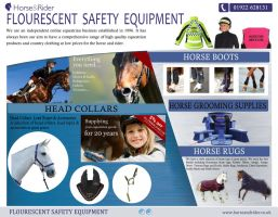 Flourescent Safety Equipment by horsegroomingsupplie