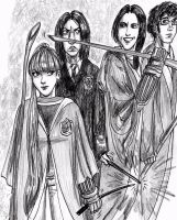 Snips and Spirals and the Quidditch Team by Atanapotnia