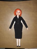 Agent Dana Scully Art Doll by LilliamSlasher