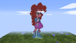 Minecraft Pinkie Pie by Glitch-Sketch