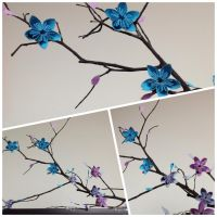 Tree Branch and Flowers by Veneno94