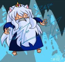 Inuyasha is the Ice King by SanoStar