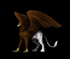 Griffin the Gryphon by NekoSkunk