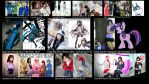 Happy New Year! 2012 Cosplay Round Up -Wallpaper- by thatasianperson
