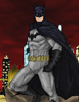 Batman by spriteman1000