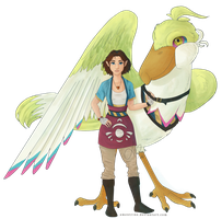 Skyward Sword OC Maiya by amentrine