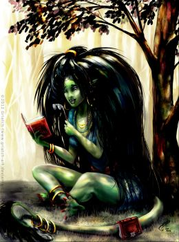 Reading of Trolls by Griatch-art