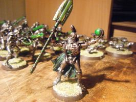 Arnold the Necron Lord by Zegovia