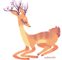 Adoptables DEER: 01 [CLOSED] by JeanaWei