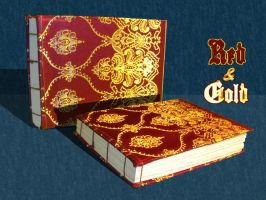 Red and Gold Book by Swashbookler
