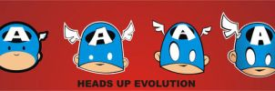 Heads Up Evolution Cap by HeadsUpStudios