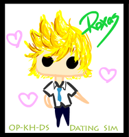 Roxas -Dating Game- by OP-KingdomHearts-DS
