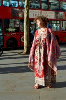 Sweet French London Bus Girl by aegiandyad