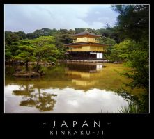 Japan - Kinkaku-ji by dark-spider