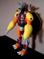 Wargreymon Plushie by Eightohsixtythird