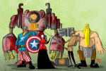 Steam Punk Avengers by themico