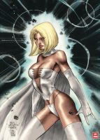 X_World Emma Frost, by Jim Lee by Absalom7