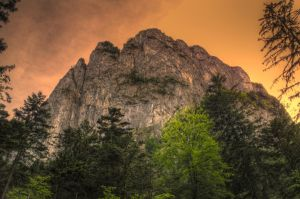 Burning Rock by Burtn