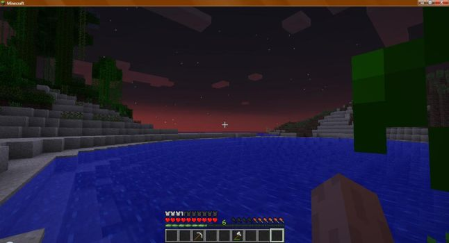 Minecraft Sunset by DottyRoxy