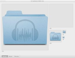 Audacity Mac Folder by VeganMac