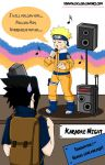 Ninja Karaoke Night by ToonTwins