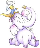 Roo and the Heffalump by Berrystuff