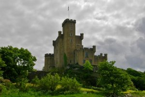 Dunvegan Castle, Isle of Skye, Scotland by francis1ari