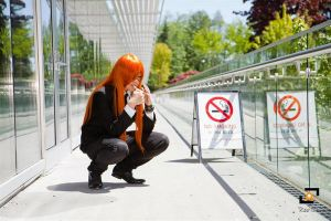 Badou NO SMOKING by kerowiz