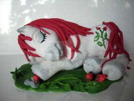 My little Pony Custom Rosehip by BerryMouse