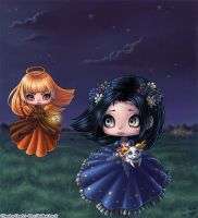 Satine and Tinu by sissy20021
